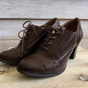 NWOT Saddle Style Heels